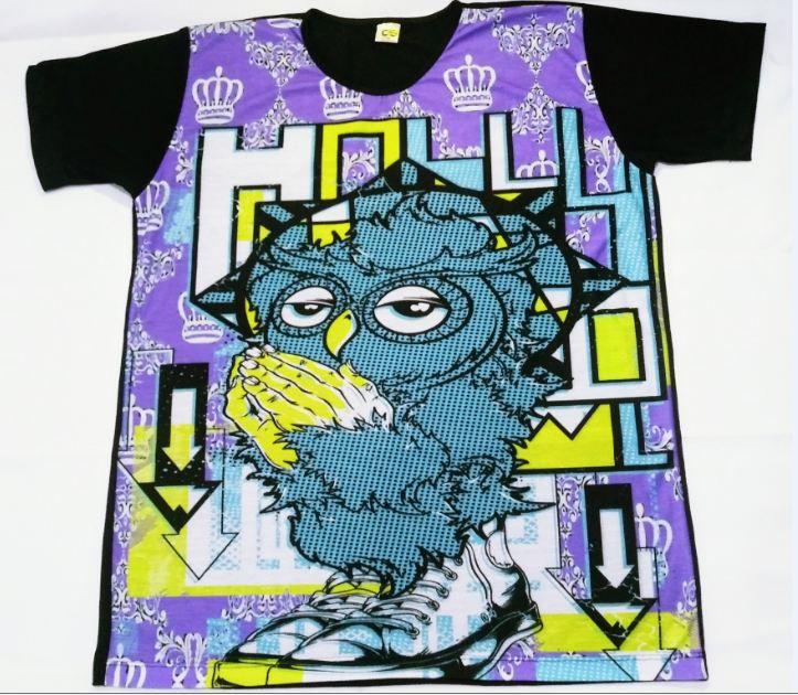KIT 2 Camisetas Masculina Owl Style