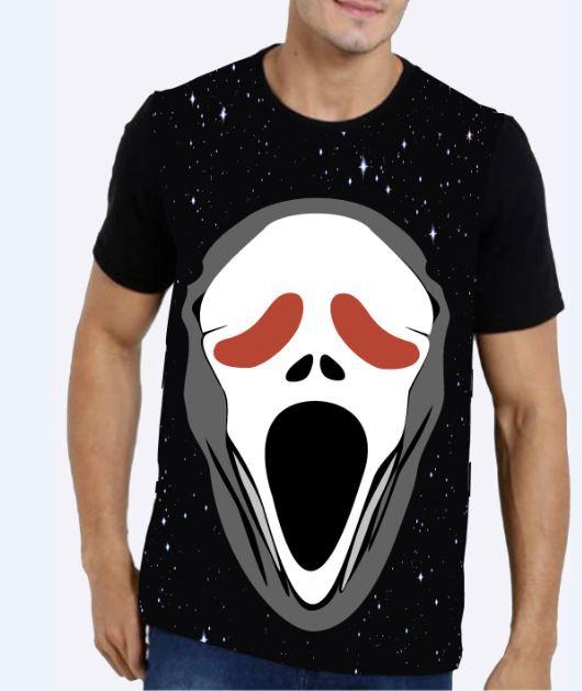 KIT 2 Camisetas Masculina Pânico