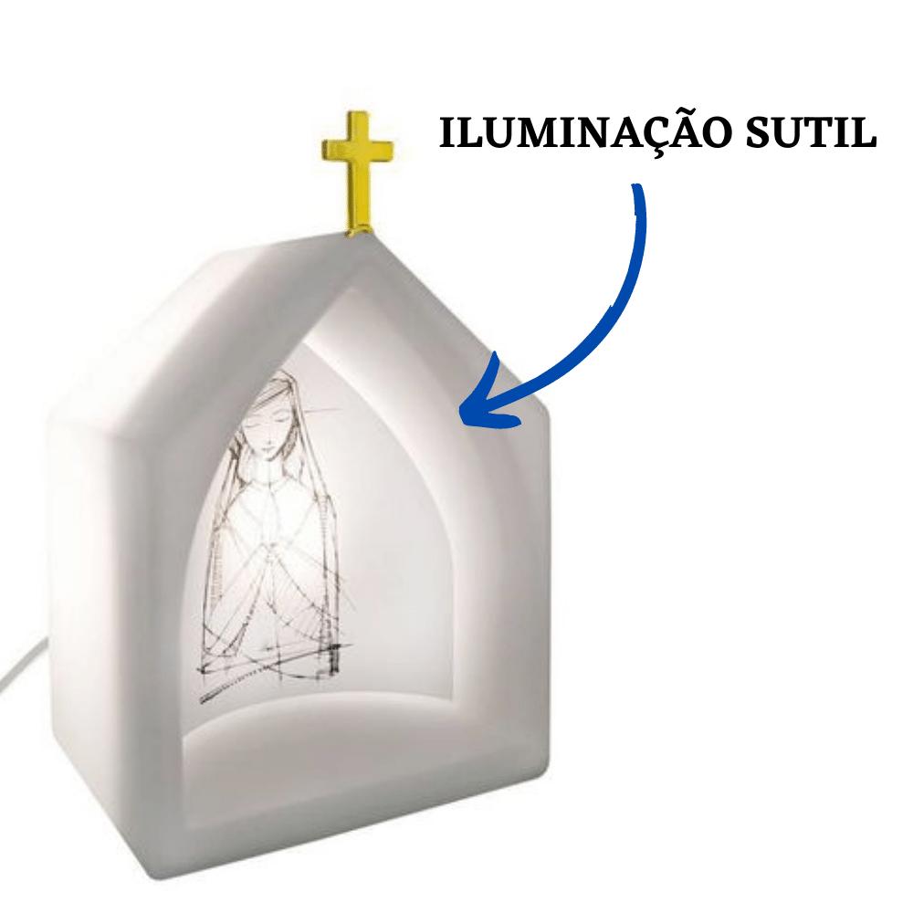 Capela Oratório Iluminado Maria Branco