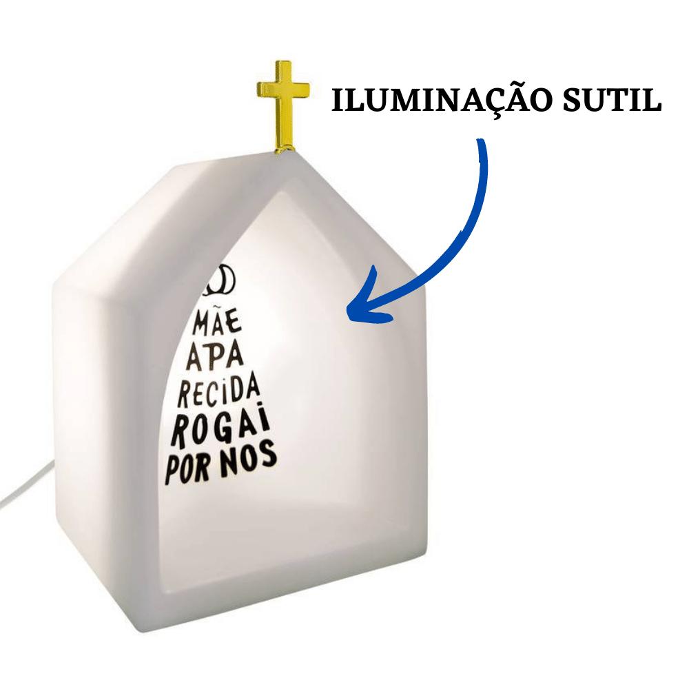 Capela Oratório Iluminado Nossa Senhora Aparecida Branco