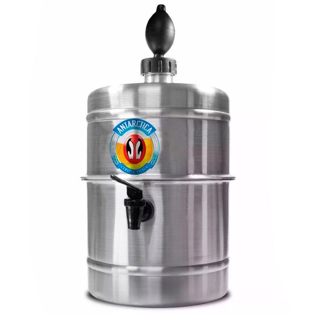 Chopeira  Antártica - Portátil 5,1 L - Cerveja Gelada