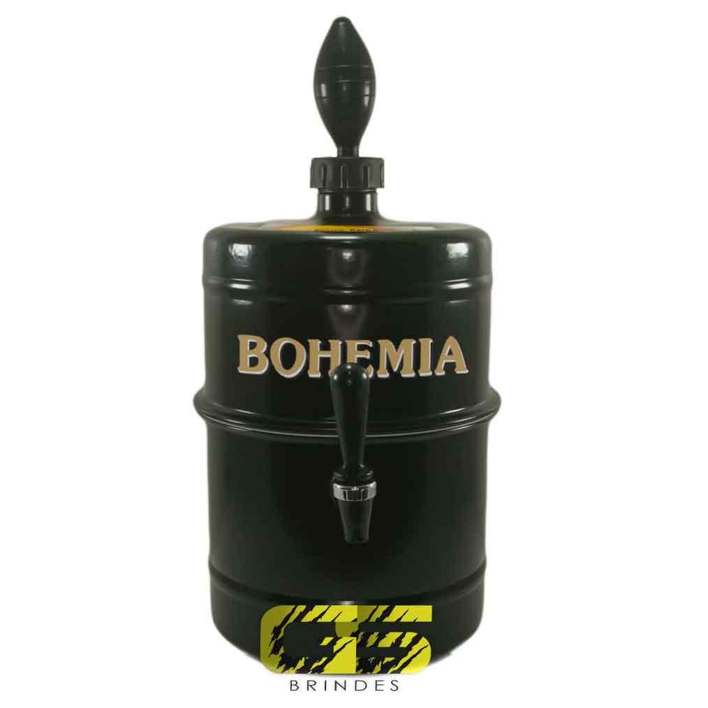 Chopeira Bohemia - Preta - Portátil 5,1 L