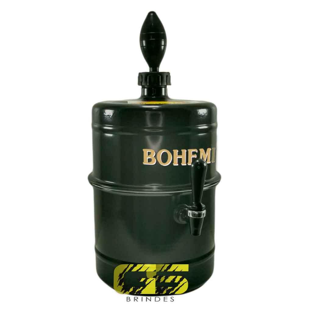 Chopeira Bohemia Preta Portátil 5,1 L