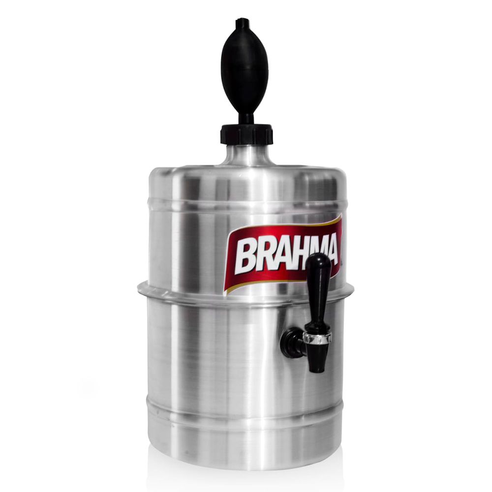 Chopeira Brahma Aluminio Portátil 5,1 L