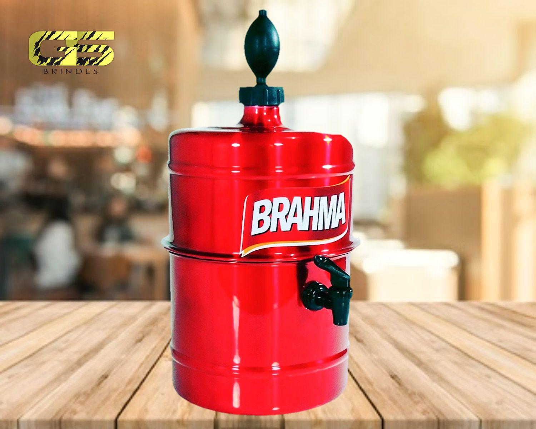 Chopeira Brahma -  Vermelha - Portátil 5,1 L