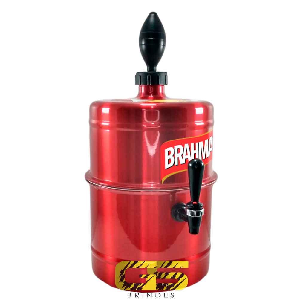 Chopeira Brahma Vermelha Portátil 5,1 L