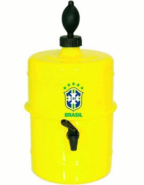 Chopeira Brasil - Amarela - Portátil 5,1 L -
