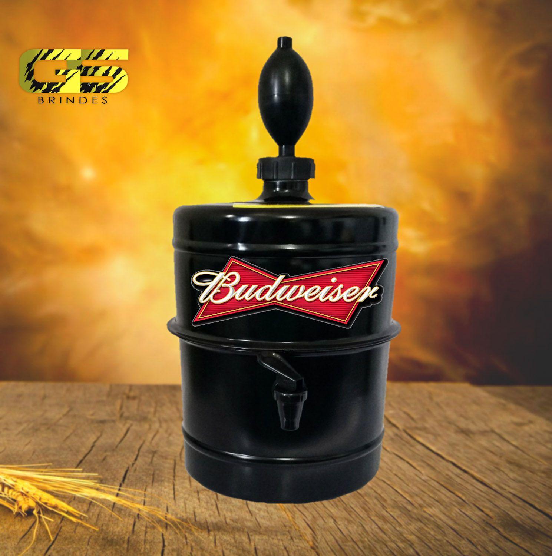 Chopeira Budweiser - Preta - Portátil 5,1 L