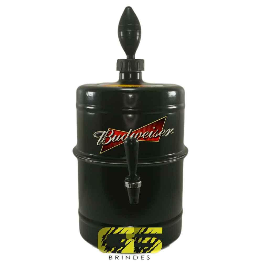 Chopeira Budweiser Preta Portátil 5,1 L