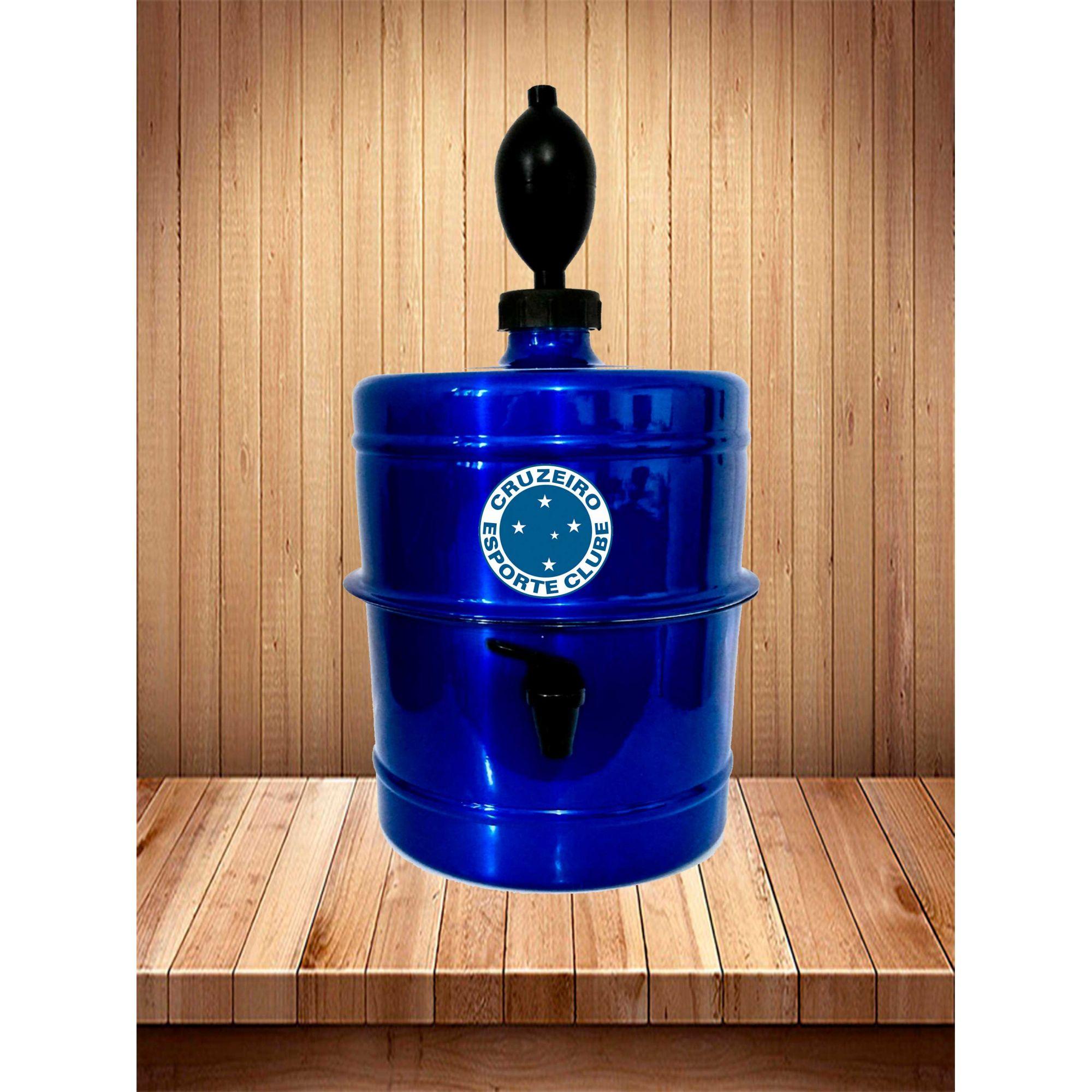 Chopeira Cruzeiro - Azul - Portátil 5,1 L