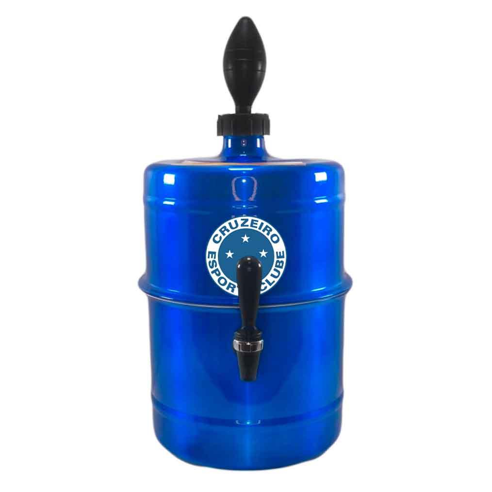 Chopeira Cruzeiro Azul Portátil 5,1 L