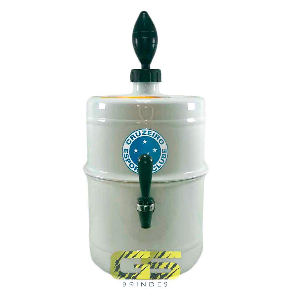 Chopeira Cruzeiro Branca Portátil 5,1 L