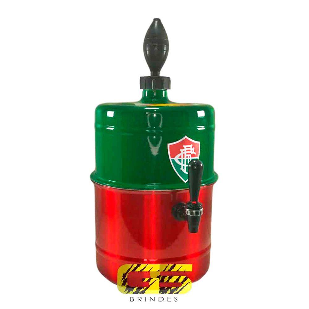 Chopeira Fluminense  - Verde e Vermelha - Portátil 5,1 L
