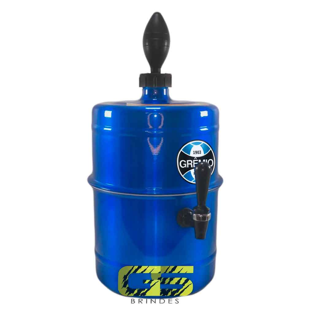 Chopeira Gremio Azul Portátil 5,1 L