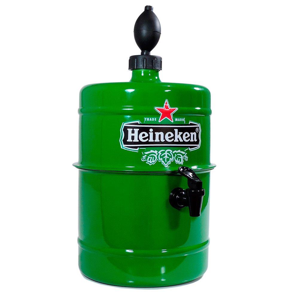 Chopeira Heineken - Portátil 5,1 L - Cerveja Gelada