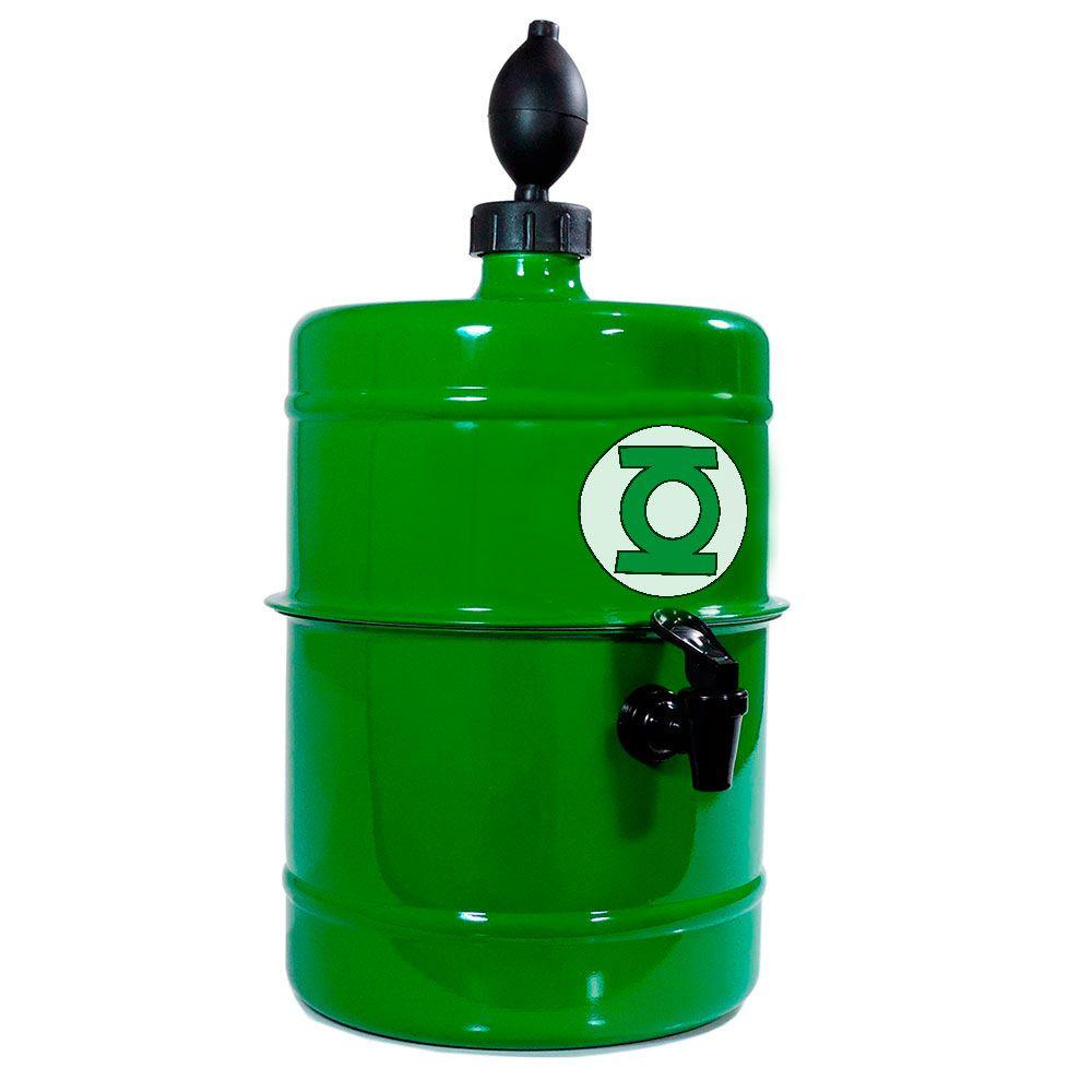 Chopeira Lanterna Verde - Portátil 5,1 L - Cerveja Gelada