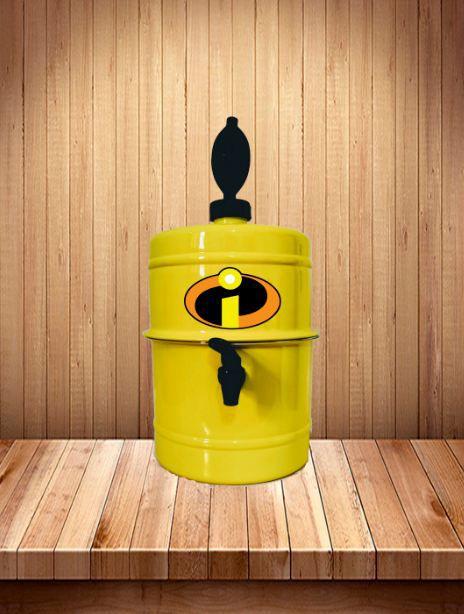 Chopeira Os Incríveis - Amarela - Portátil 5,1 L