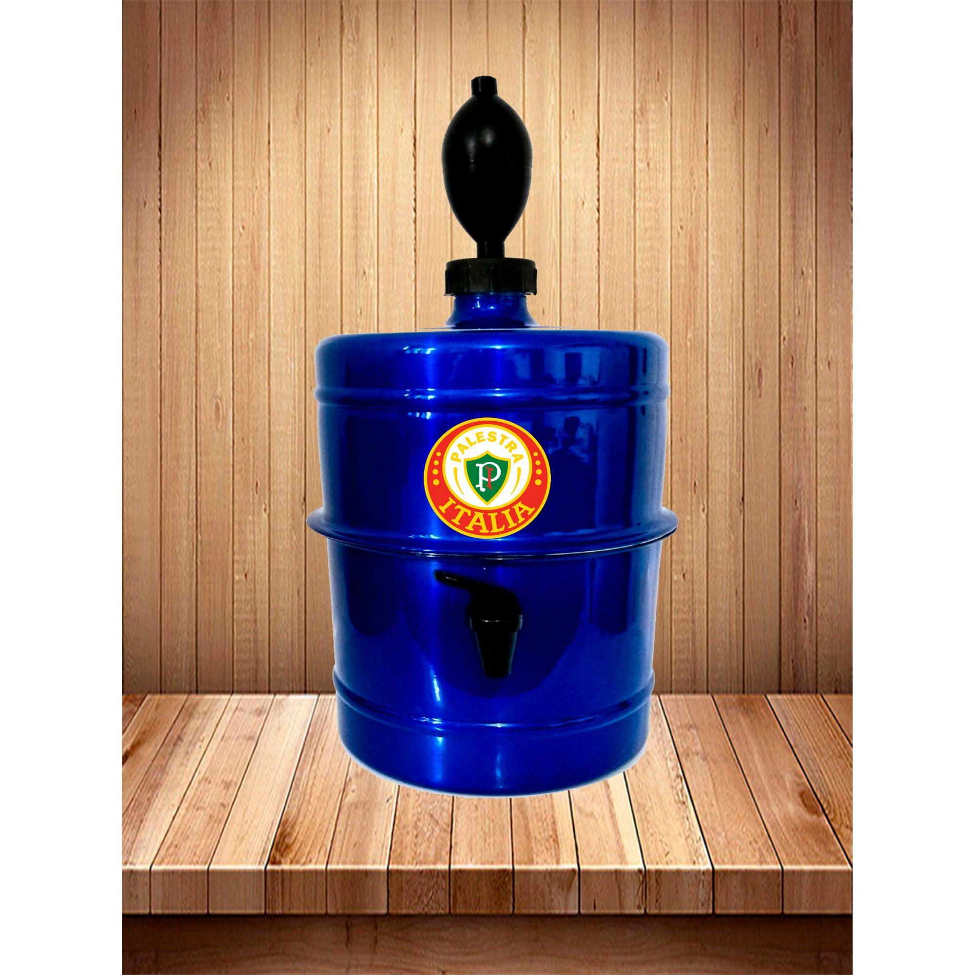 Chopeira Palestra Itália - Azul - Portátil 5,1 L