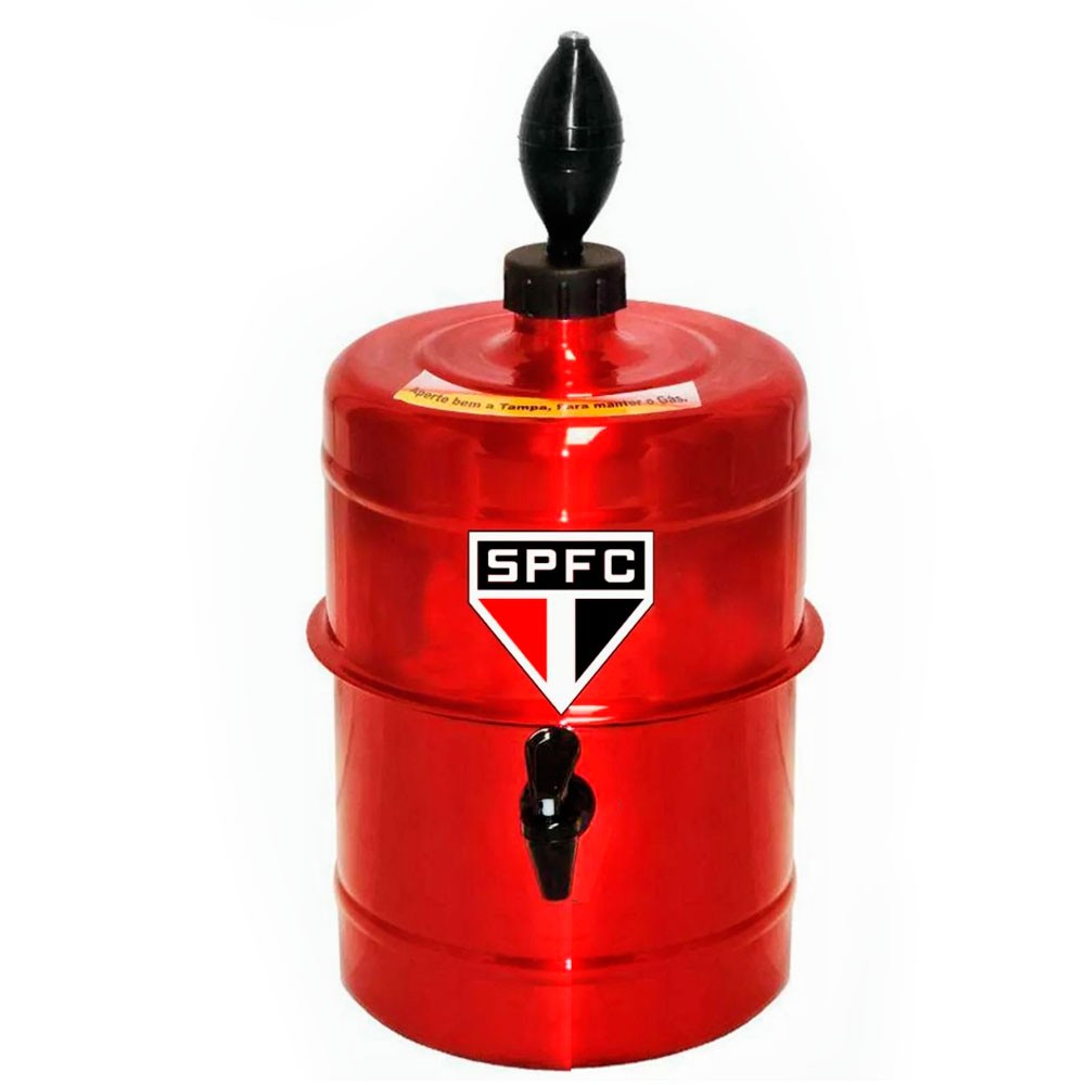 Chopeira  São Paulo - Vermelha - Portátil 5,1 L