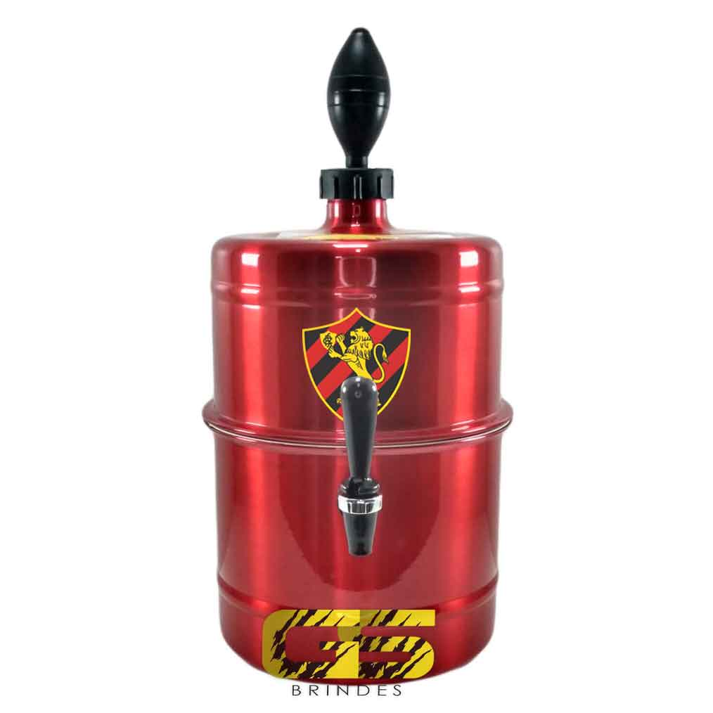 Chopeira  Sport Vermelha Portátil 5,1 L