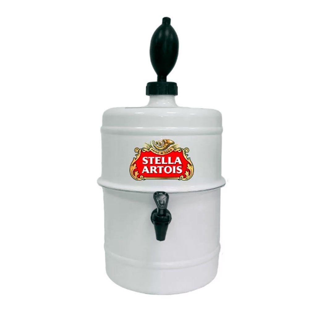 Chopeira  Stella Artois - Portátil 5,1 L - Cerveja Gelada