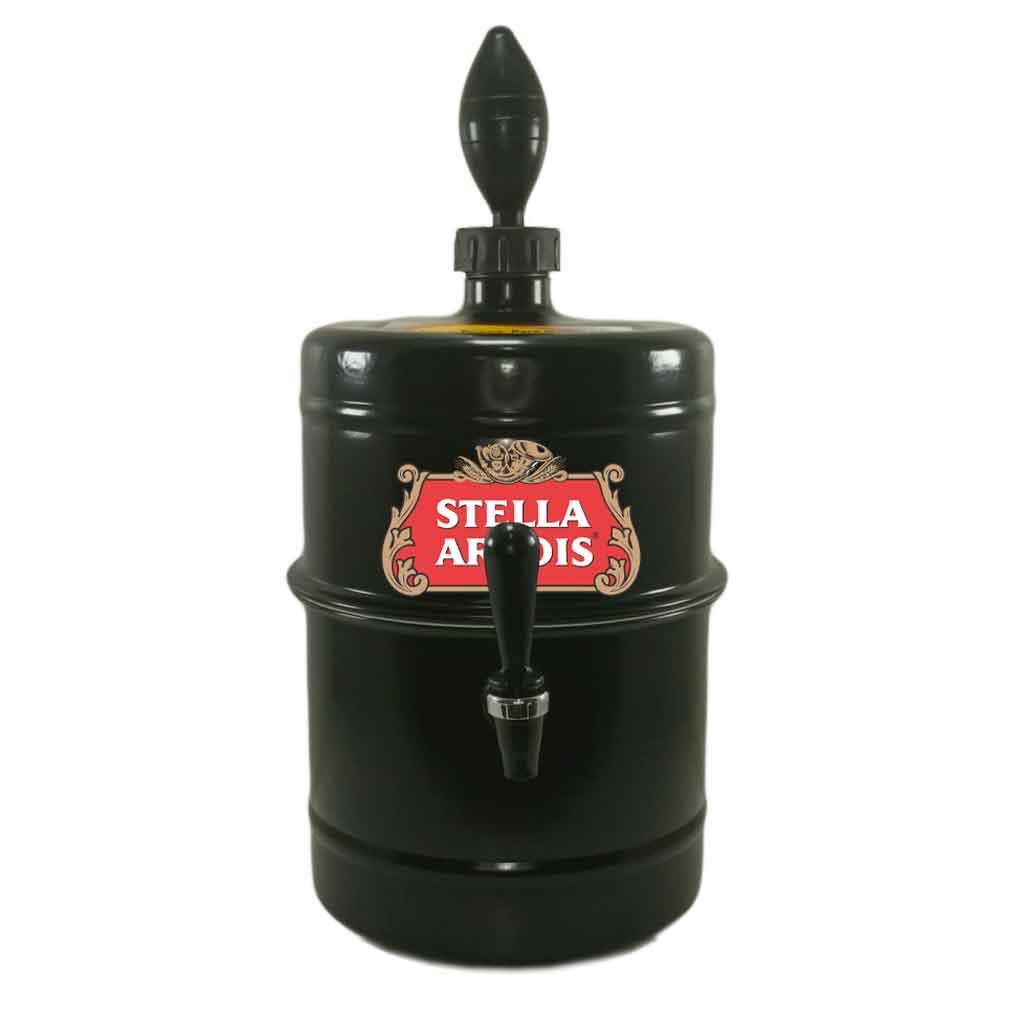 Chopeira Stella Artois Preta Portátil 5,1 L