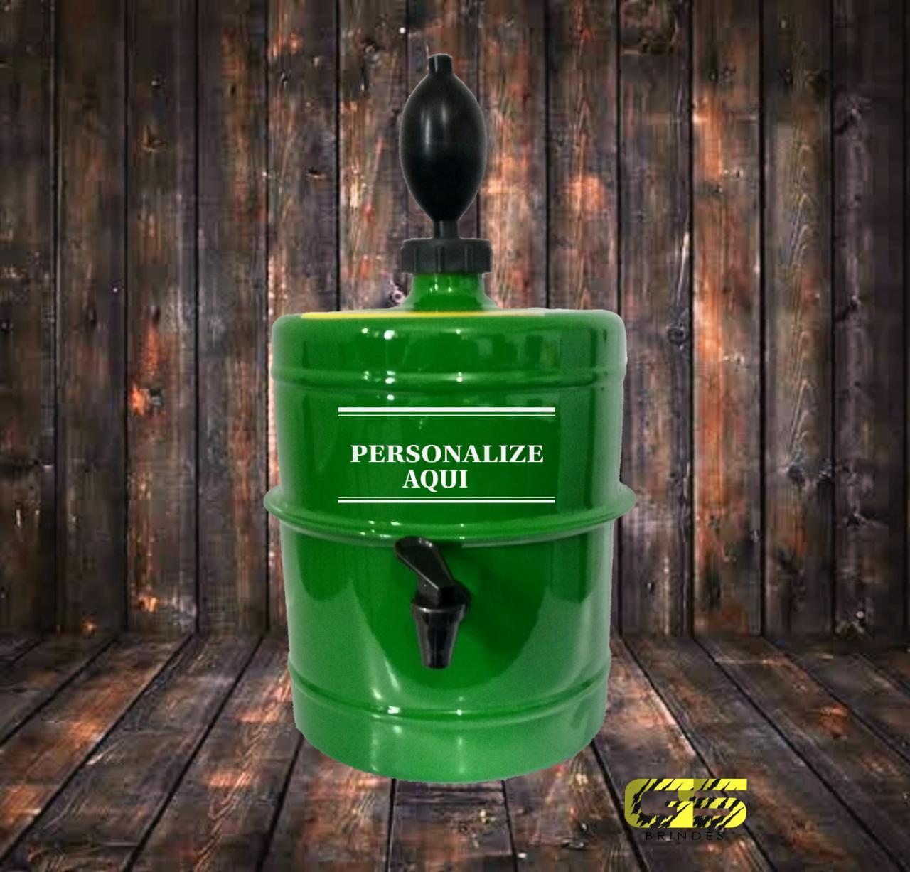 Chopeira Verde Personalizada Portátil 5,1 L