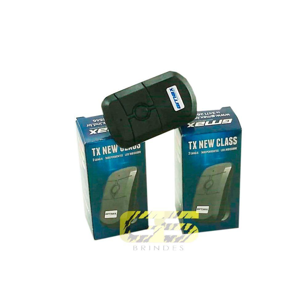 Controle De Alarme Portão Eletrônico Gmax 433 Mhz 30m New Class