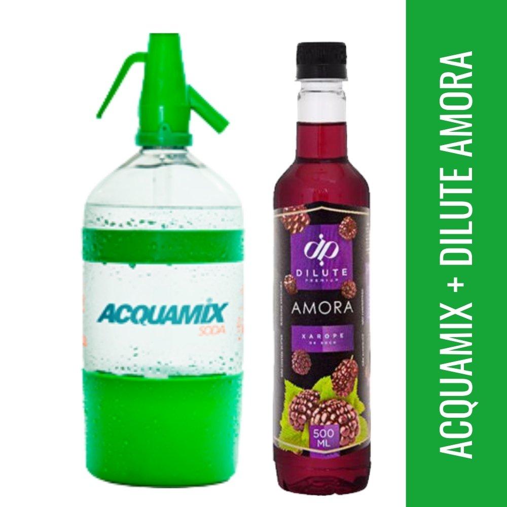 Kit 1 ACQUAMIX 1500ML + 1 DILUTE AMORA 500ML