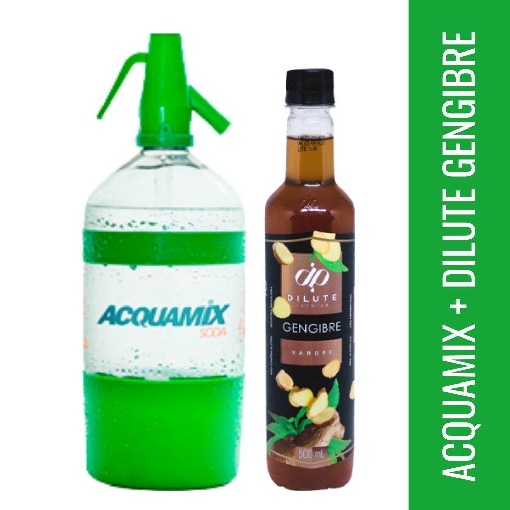 Kit 1 ACQUAMIX 1500ML + 1 DILUTE GENGIBRE 500ML