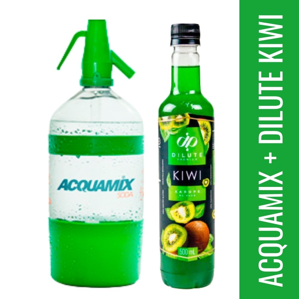 Kit 1 ACQUAMIX 1500ML + 1 DILUTE KIWI 500ML