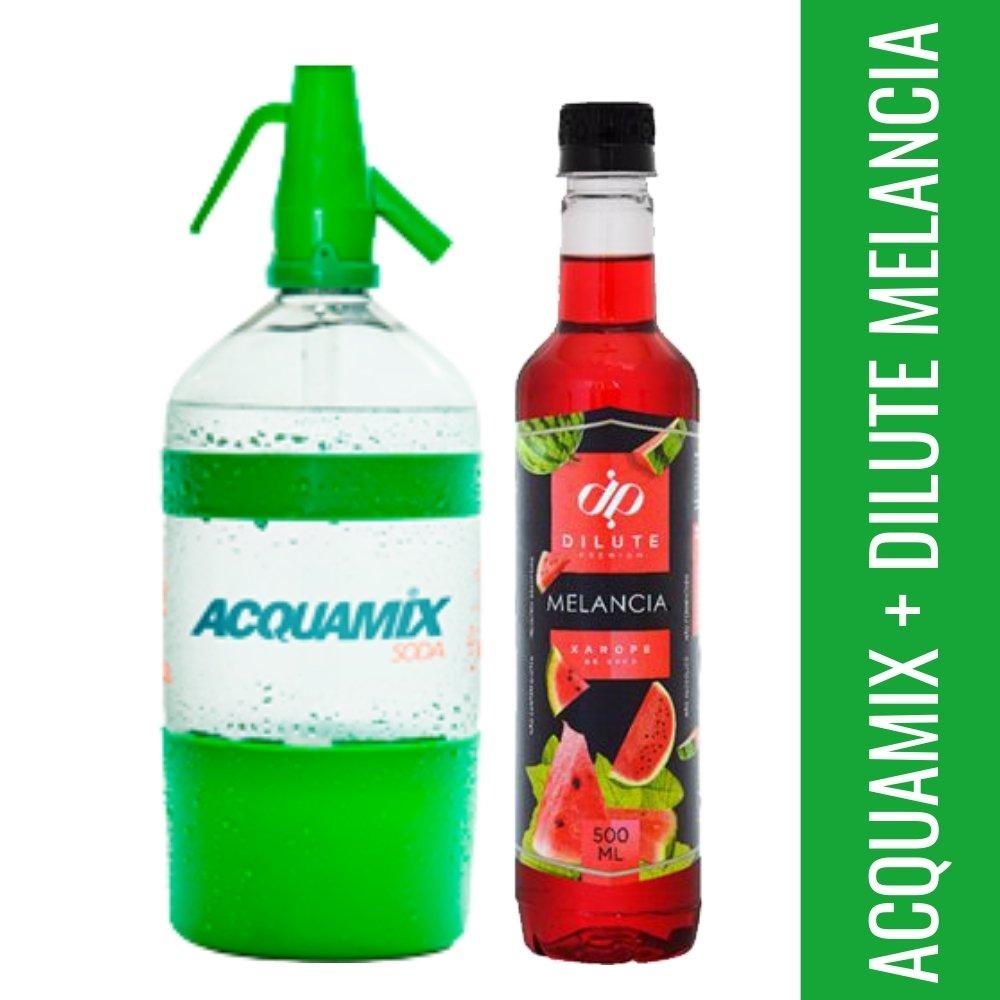 Kit 1 ACQUAMIX 1500ML + 1 DILUTE MELANCIA 500ML