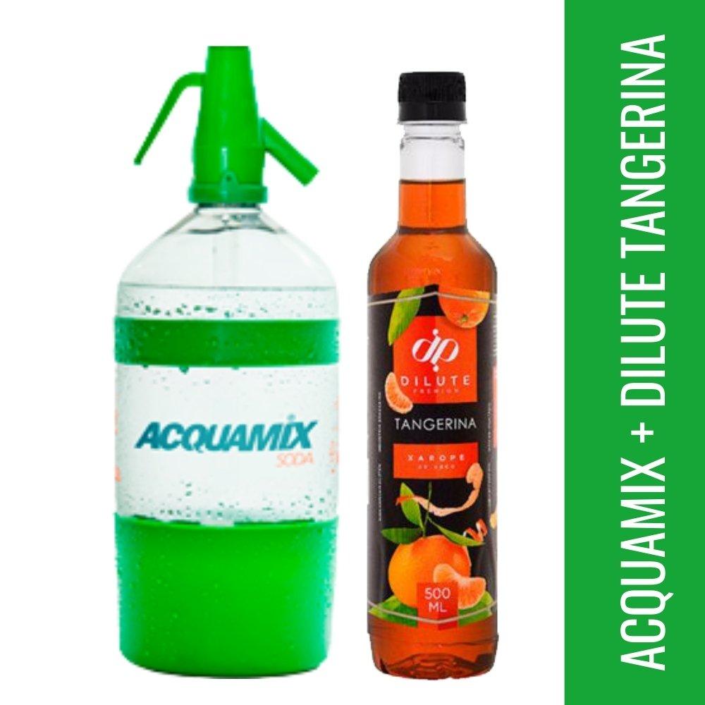 Kit 1 ACQUAMIX 1500ML + 1 DILUTE TANGERINA 500ML
