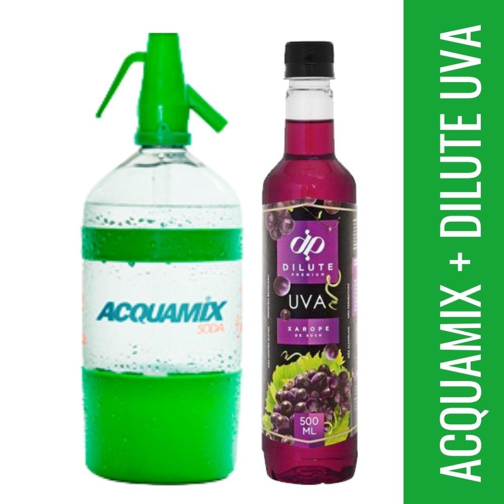 Kit 1 ACQUAMIX 1500ML + 1 DILUTE UVA 500ML