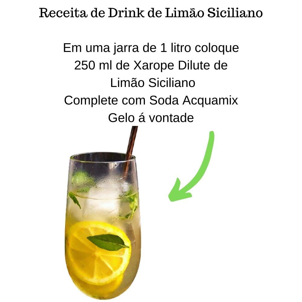 Kit 1 ACQUAMIX 1500ML + 2 DILUTE LIMÃO SICILIANO 500ML