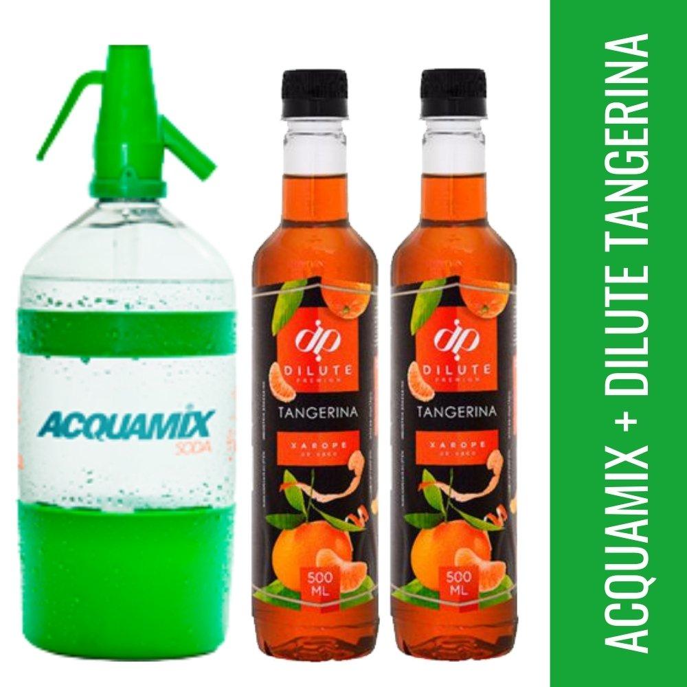 Kit 1 ACQUAMIX 1500ML + 2 DILUTE TANGERINA 500ML