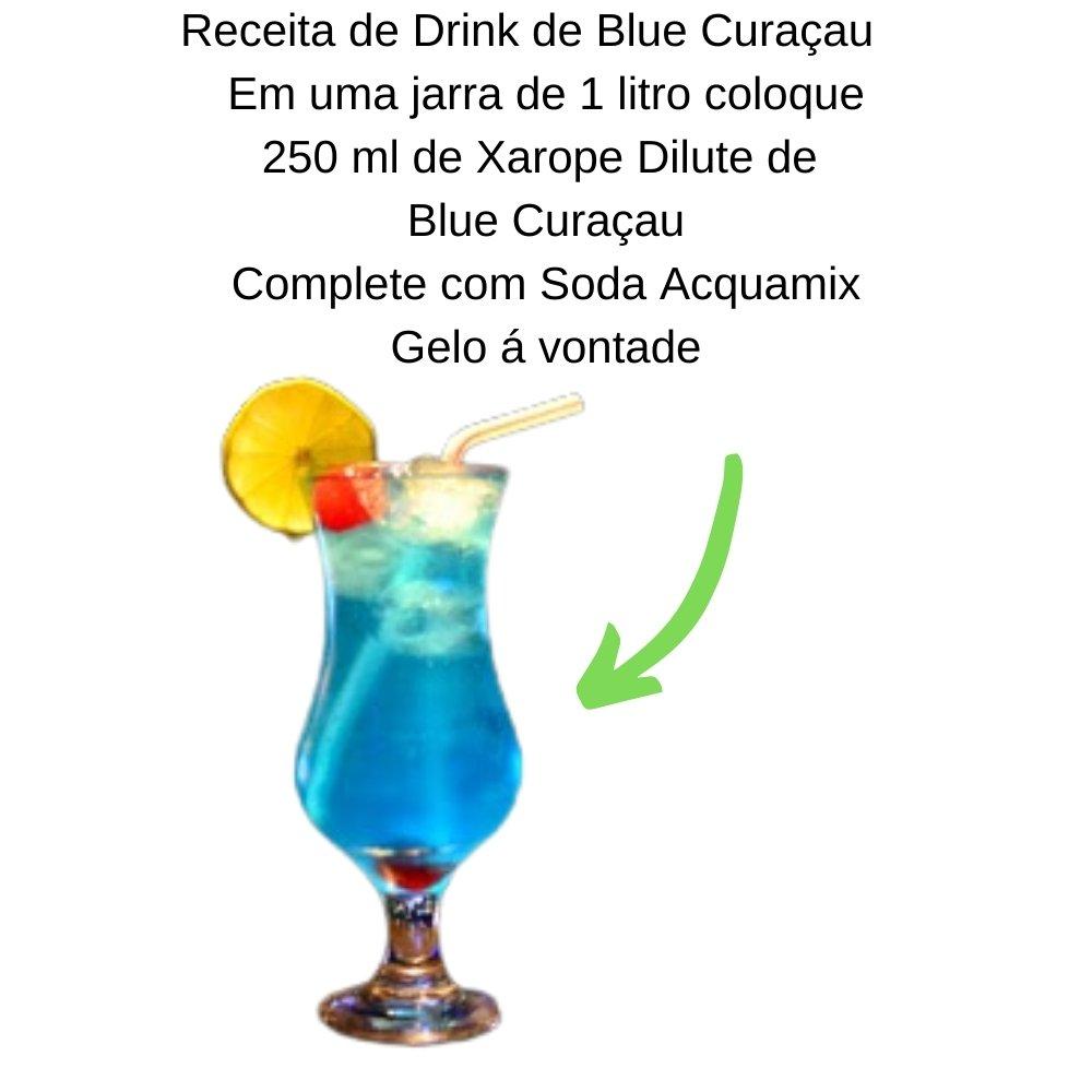 Kit 1 ACQUAMIX + 1  DILUTE Blue Curaçau