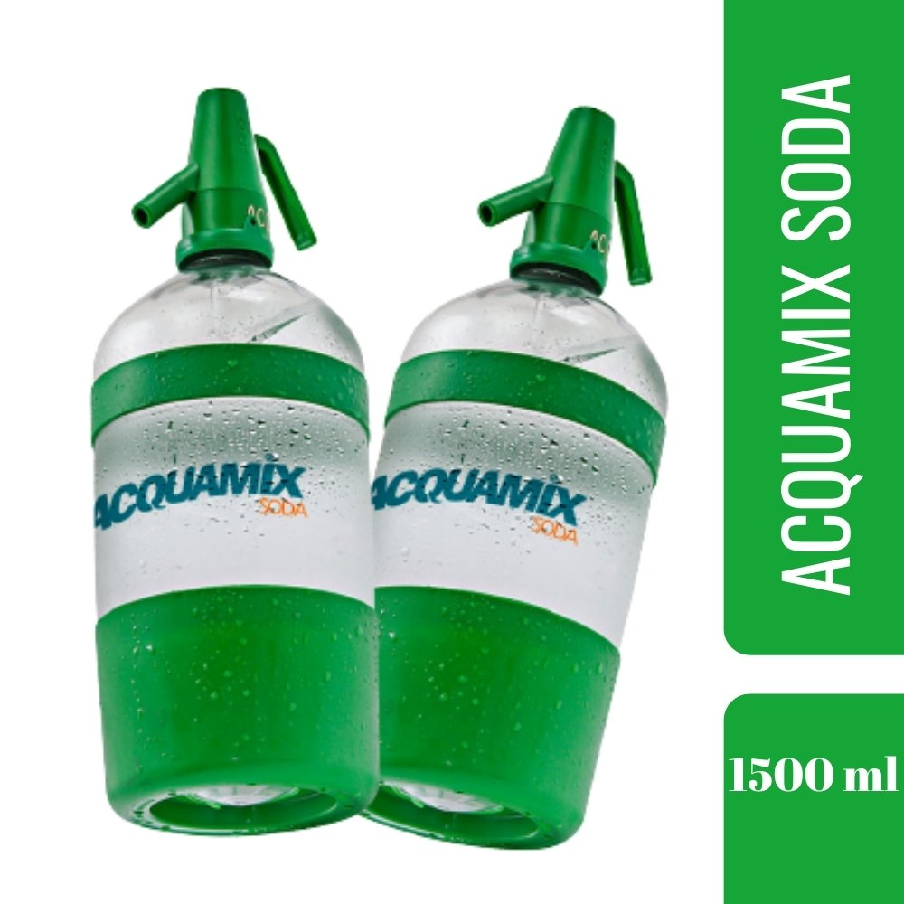Kit 2 ACQUAMIX SODA 1500ML
