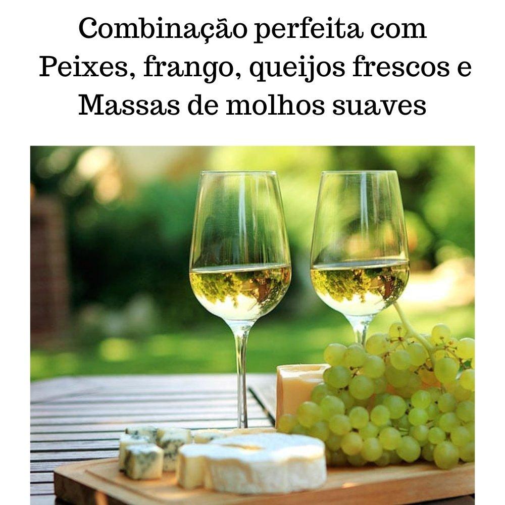 Kit 2 Vinhos De Mesa Crevelim Branco 1 Suave e 1 seco  Niágara 375ml