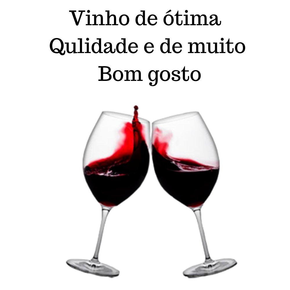 Kit 2 Vinhos De Mesa Pérgola Tinto Suave 750ml