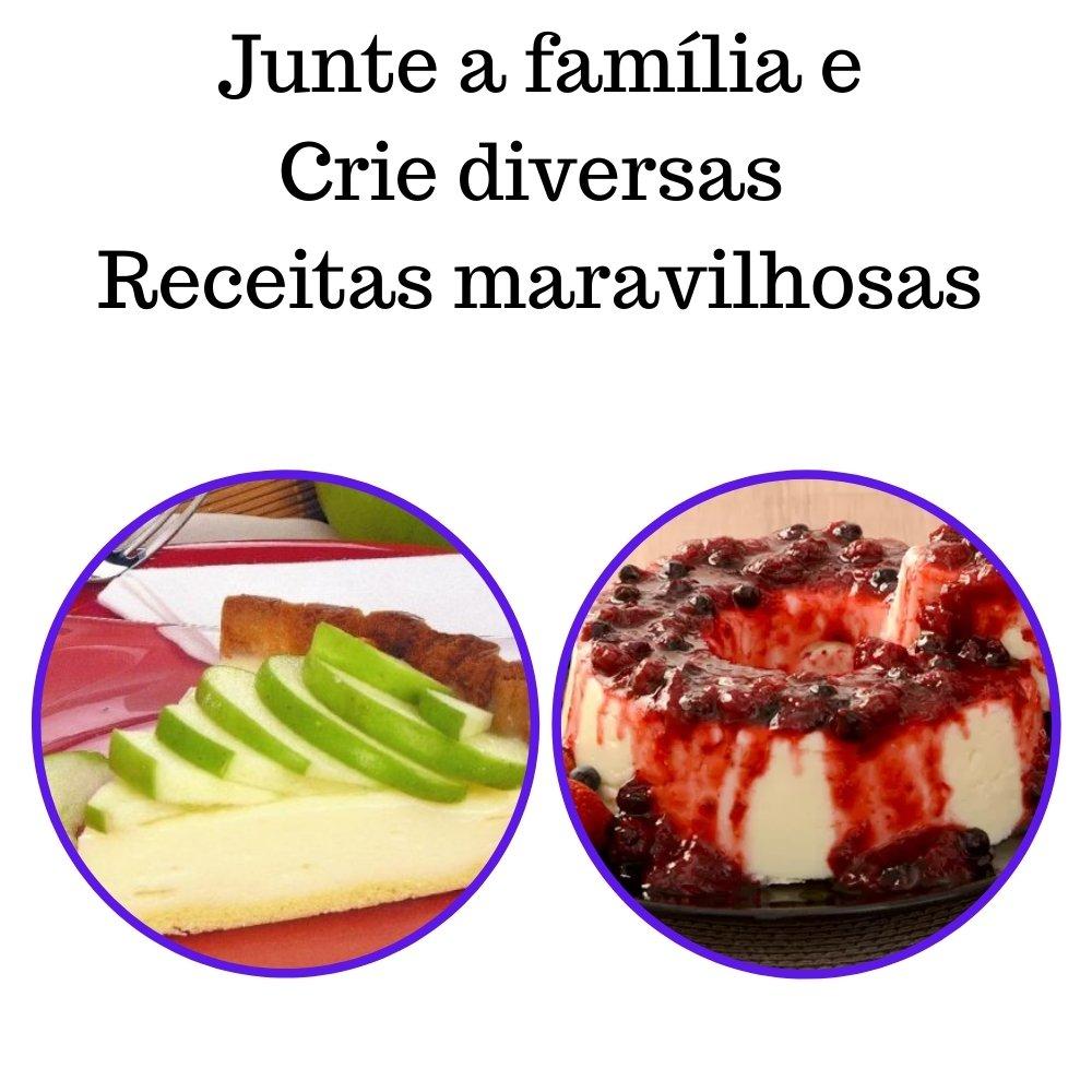 Kit 2 XAROPES DILUTE PREMIUM DRINKS E DOCES 500ML Maçã Verde E Frutas Vermelhas Zero