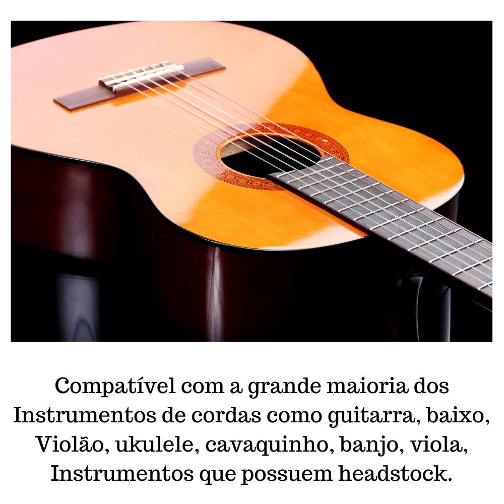 Kit 3 Suportes De Violão E Guitarra Automático Modelo AGS