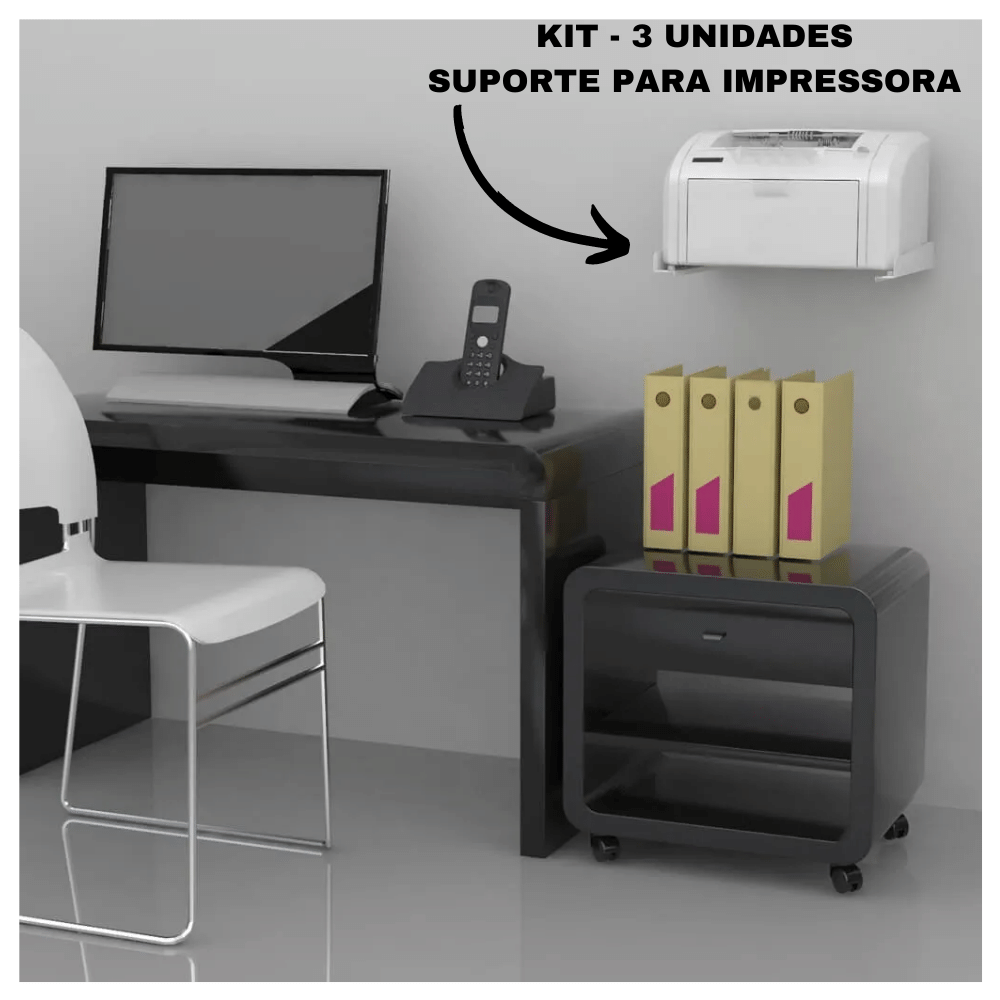 Kit 3 SUPORTES MULTIUSO PARA IMPRESSORA SBR5.1