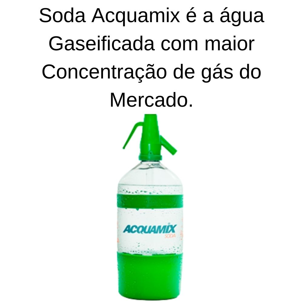 Kit 4 ACQUAMIX SODA 1500ML