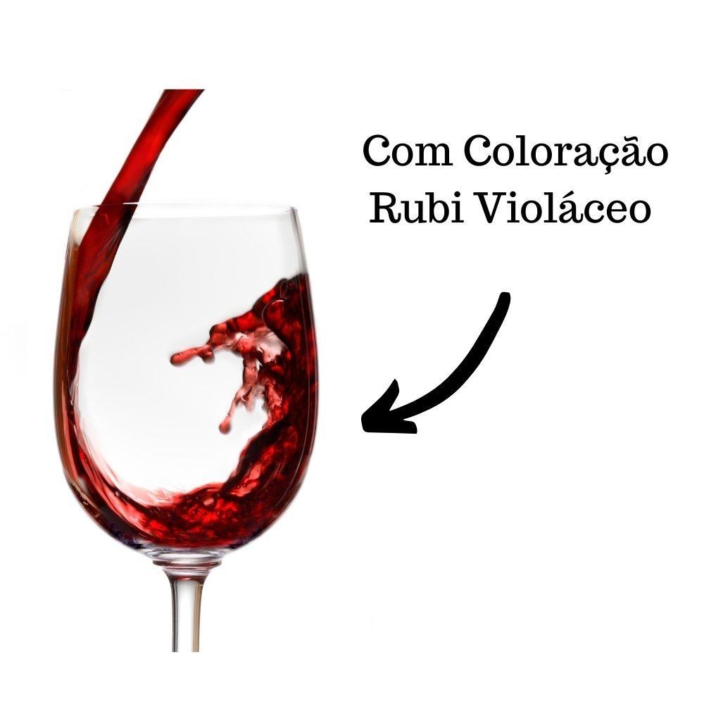 Kit 4 Mini Vinhos Crevelim Tinto Suave 245ml
