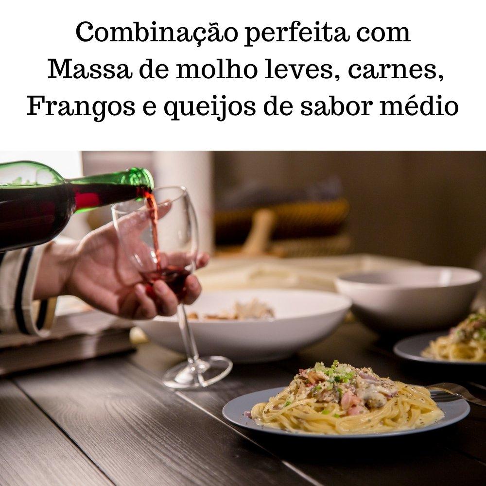 Kit 4 Vinhos De Mesa Crevelim Tinto Suave 375ml