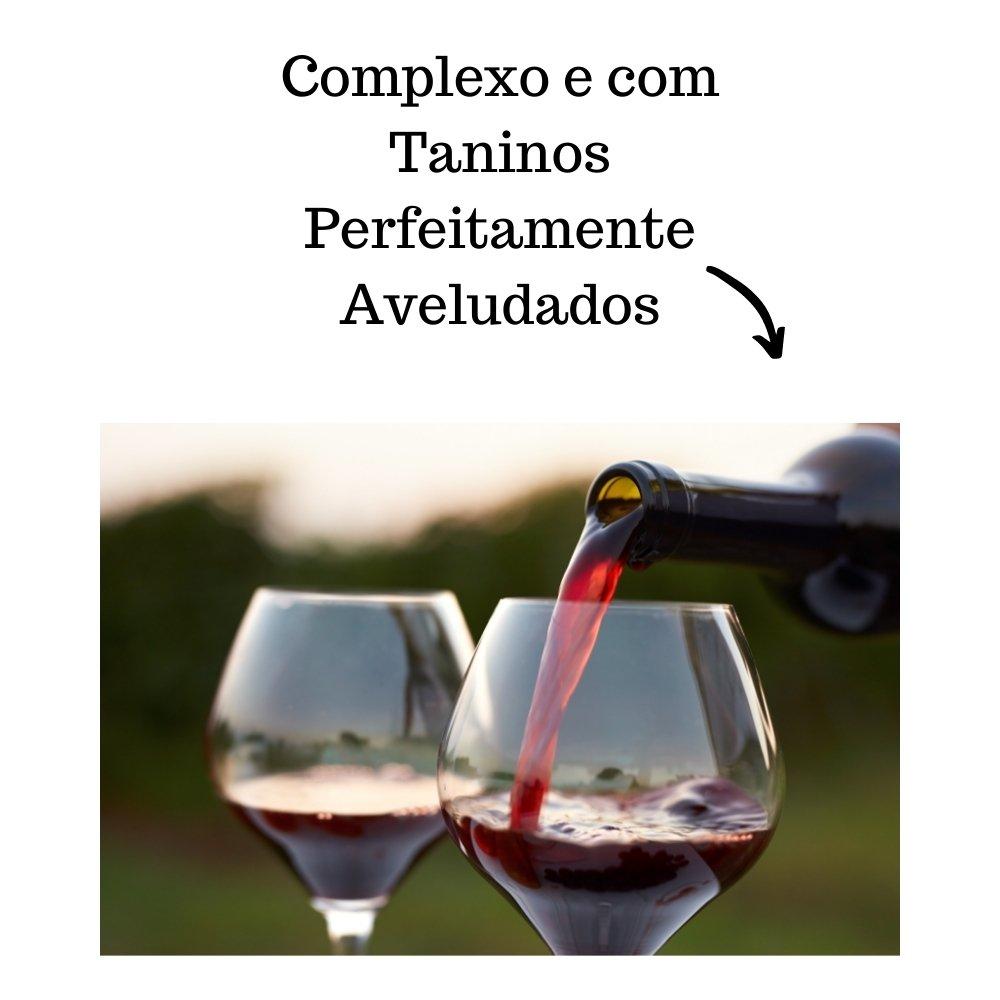 Kit 4 Vinhos De Mesa Crevelim Tinto Suave 750ml