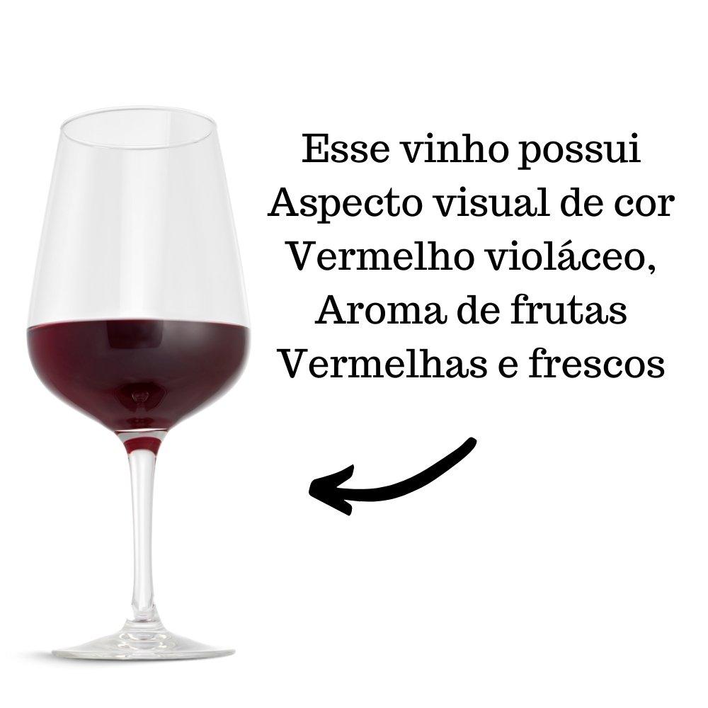 Kit 4 Vinhos De Mesa Pérgola Tinto Suave 750ml