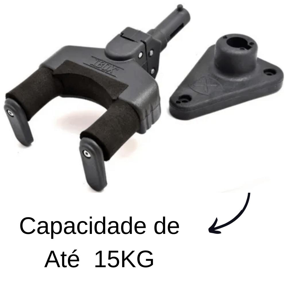 Kit 5 Suportes De Violão e Guitarra Automático Modelo AGS