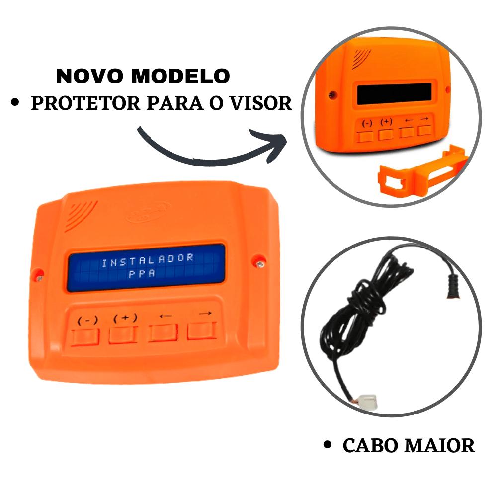 PROG PROGRAMADOR INSTALADOR FUNÇÕES PORTÕES ELETRONICOS PPA
